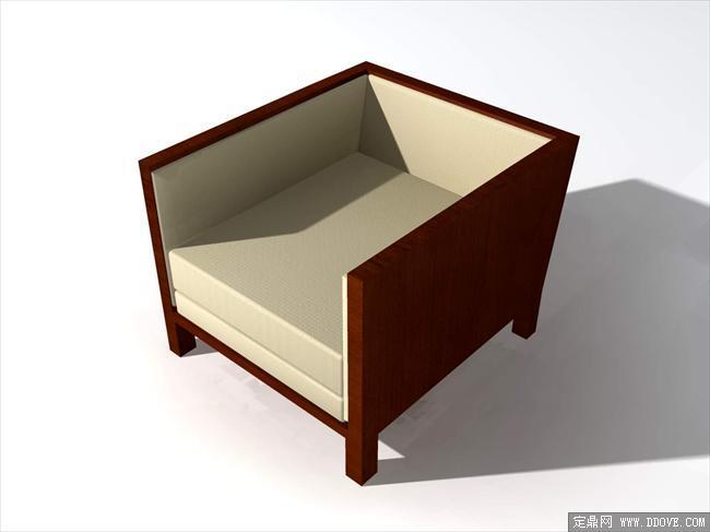 现代家具3dmax模型之沙发034图片
