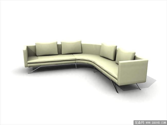 现代家具3dmax模型之沙发031