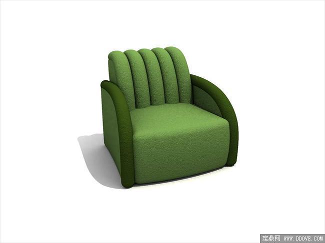现代家具3dmax模型之沙发041