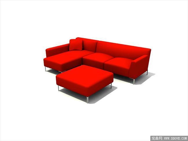 现代家具3dmax模型之沙发046图片