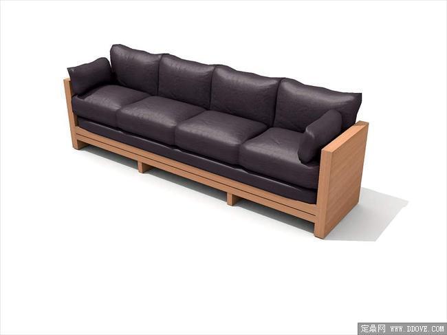 现代家具3dmax模型之沙发097