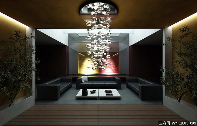 会所包房室内装饰效果图带3dmax全套场景模型及材质图片