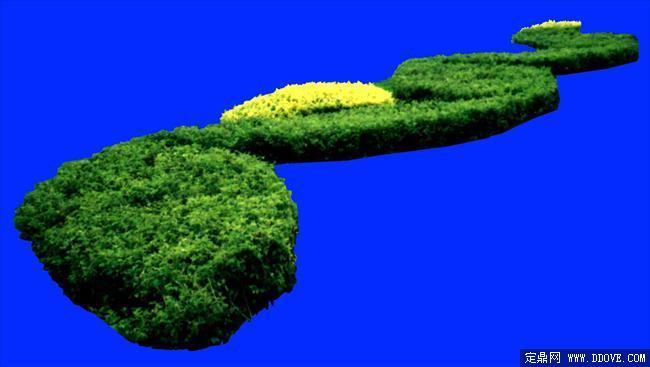 灌木024_效果图植物配景素材