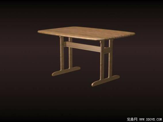 现代家具桌子3d模型e-019