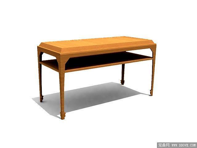 欧式家具桌子0163d模型