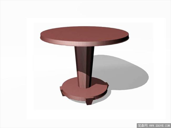 欧式家具桌子0123d模型