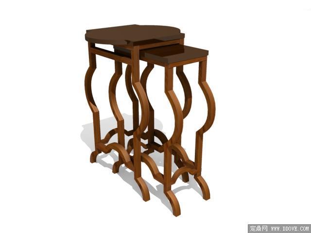 欧式家具桌子0273d模型的下载地址