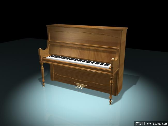 室内装饰乐器钢琴0023d模型