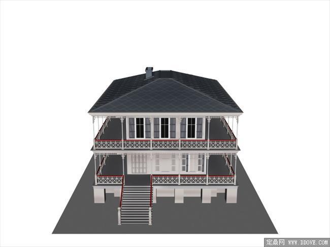 各式建筑设计3d模型之bld_18