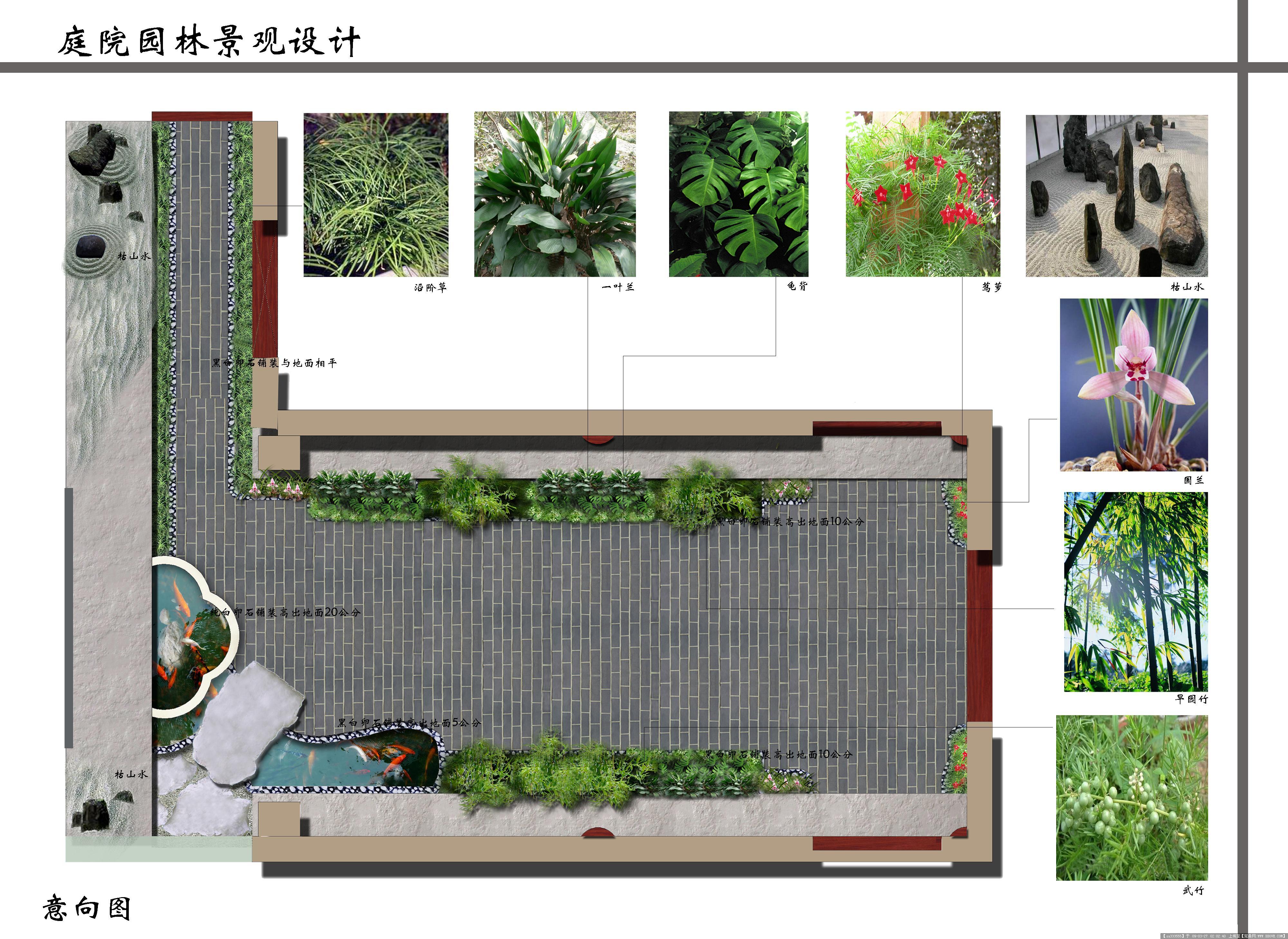 一楼小院设计图展示