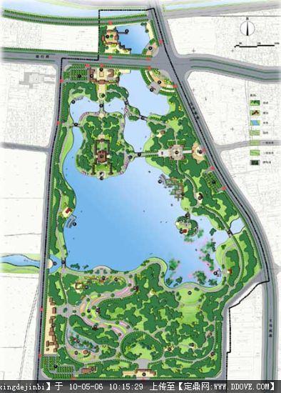 滨海景观平面设计效果图 小图的下载地址,园林方案设计,滨水景观,