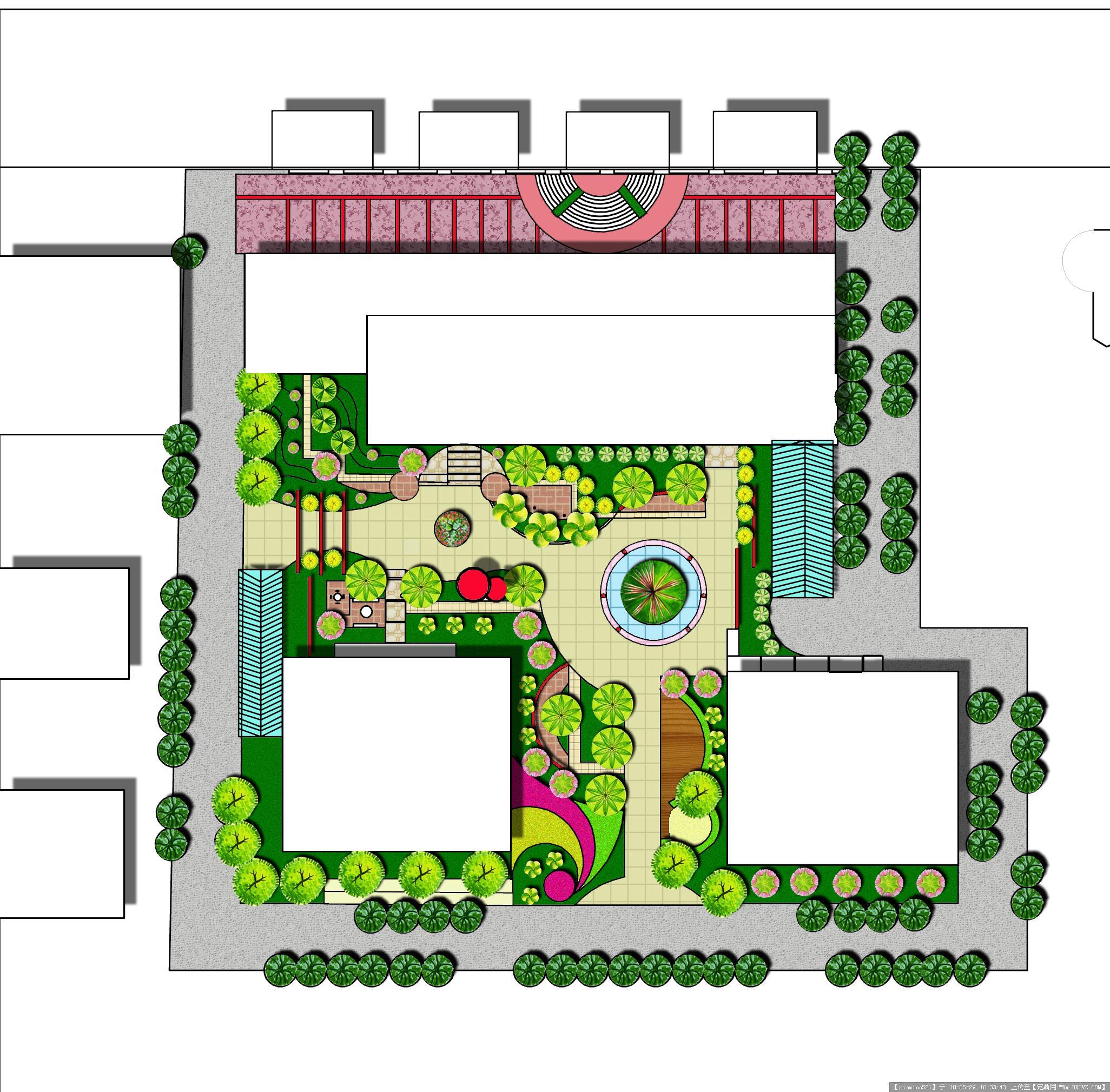 某居住区景观设计ps平面图