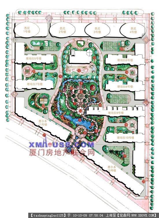 景观平面效果图的下载地址,园林方案设计,公园景观,园林景观设计