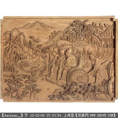 3d材质木雕的下载地址,材质贴图,其他综合,园林建筑装饰设计素材