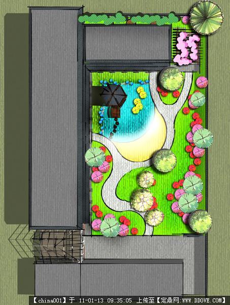 国外游戏庭院设计