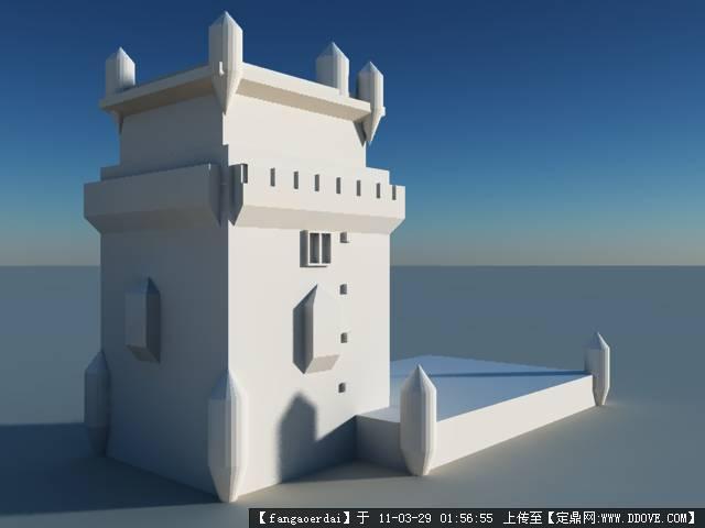 垃圾 贝伦塔模型原始尺寸:640 * 480