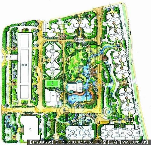 建筑园林 经典园林景观规划设计平面图